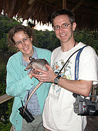April, Jeff, Armadillo in Peru