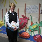 Nappanee educators created this fish hallway with language activities