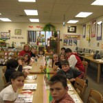 lunch with young writers and readers