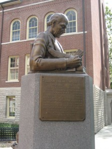 Miami University, site of the conference, is the home of McGuffey's Readers!