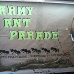 army ant parade display