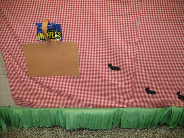 army ant picnic art