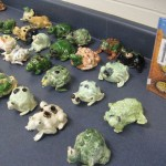 Waynesville, OH students do toad sculptures