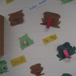 Waynesville paper toads with tongues and sound words
