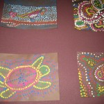 Celebrating Australia with Aboriginal dot painting