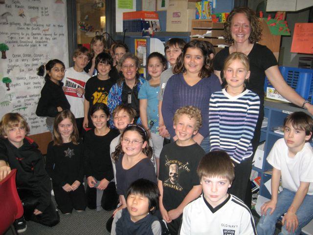 Mrs. Jones and Class