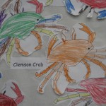 Uh, oh, Clemson Crab at New Providence Elem
