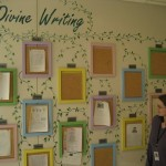 The Divine Writing Wall!