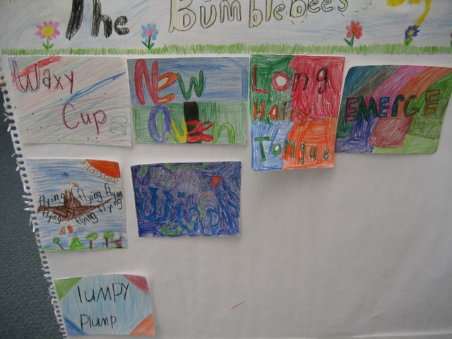 Bumblebee Poetry and Nonfiction Writing at Midway Elem