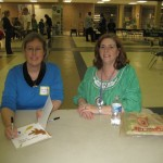 Read Fest signing with Lexington High's Elizabeth Harrill. A wonderful librarian and a terrific event.