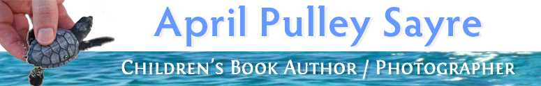 April Pulley Sayre Children's Book Author