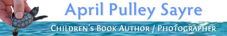 April Pulley Sayre Children's Book Author