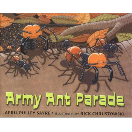 April Sayre's Book Army Ant Parade